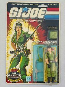 G.I. GI Joe LADY JAYE 1985 MINT-ON-CARD MOC