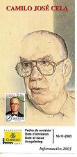 España Premios Nobel Camilo José Cela (CX-707)