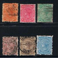 TASMANIA 1870 - 1913 SIDEFACE