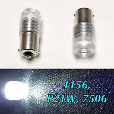 REVERSE LIGHT 1156 P21W 7506 9W LED 6000K WHITE BULB BACK UP FOR VW