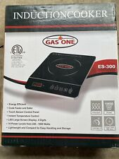 Gas One ES-300 1800W Portable Multi-function Induction Cooker with Sensor Touch