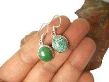 Tibetan TURQUOISE   Sterling  Silver  925  Gemstone  EARRINGS  -  Gift  Boxed