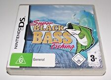 Super Black Bass Fishing Nintendo DS 2DS 3DS Game *Complete*