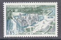 France 1969 MNH Mi 1676 Chteau de Chantilly.Castle **