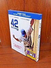 -NEW- 4: The Jackie Robinson Story w/ Slip Cover (Blu Ray / DVD, 2013)