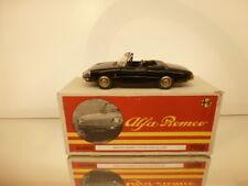TOGI ALFA ROMEO DUETTO SEPPIA 1600 MATRICOLA 083 - BLACK 1:23 - VERY GOOD IN BOX