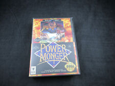 PowerMonger (Sega Genesis, 1992) *In Case - Tested - Cleaned*