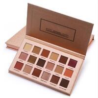 18 Colors Pro Matte Glitter Eyeshadow Makeup Shimmer Eye Shadow Palette Cosmetic