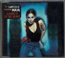 """THE TAMPERER feat. MAYA - 5"""" CD- Hammer To The Heart + W.I.P Megamix (3 Track)"""