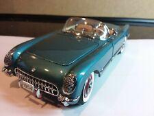 1/24 danbury mint 1954 corvette (pennant blue)
