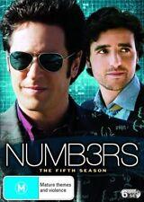 Numbers Season 5 (DVD, 2010, 6-Disc Set) - VGC