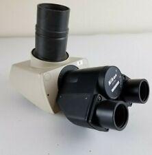 Microscope Part Nikon Trinocular Head Optics Made In Japan