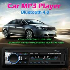 Car Stereo In Dash Bluetooth MP3 Player Aux Input USB FM Radio Receiver #JD