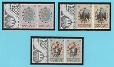 VANUATU 6 timbres neufs 1981 mariage Royal  /T362