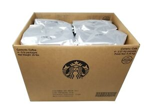 Starbucks Colombia Whole Bean Coffee Net 20 LB - 4 Pack Best Sep 2020