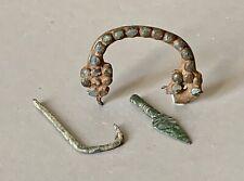 Trois objets époque romaine, Archéologie, Roman Antiquity
