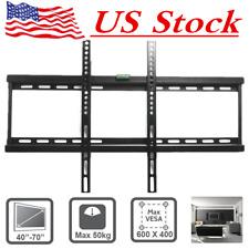 "TV Bracket Wall Mount for LED LCD 3D 32 37 40 42 43 46 47 48 50 52 55 60 65 70"""