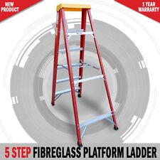 Fibre Glass 6ft 1.8 Metre Step Ladder Australian Approved