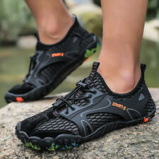 Мужские воды реки спортивная обувь для прогулок на открытом воздухе след snekaers сетка дышащая горячий