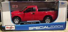 Ford F-150 STX Red Maisto 1/27 Scale Diecast Model