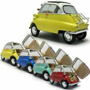 1:18 Scale Vintage 1955 BMW Isetta Model Car Diecast Vehicle Collection Gift
