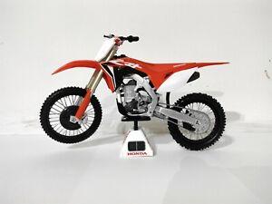 Kengfai 1:12 Honda CRF 450 R 2018 Model Motocross Motorbike Dirt Bike Scrambler