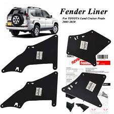 4pcs Fender Liner Seal Mudflaps Mudguards for Toyota Land Cruiser Prado J150