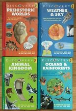 Lot 4 DISCOVERY INTERACTION Books Weather & Sky Prehistoric World Animal Science