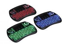 iPazzPort Wireless Mini Keyboard Three Blacklight Touchpad PC TV KP-810-21SL-RGB