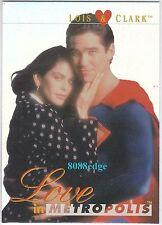 1995 SKYBOX LOIS & CLARK THE NEW ADVENTURES OF SUPERMAN #L&C1 CHIP FOIL INSERT