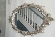 large great sliver mirror