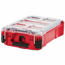 Milwaukee 48-22-8435 5-Bin Impact Resistant Polymer Packout Compact Organizer