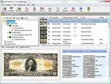 Numismatic Inventory Software. CoinManage USA + CurrencyManage on USB