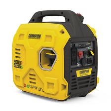 Champion Power Equipment Portable Dual Fuel Inverter Generator Paralink 2000w