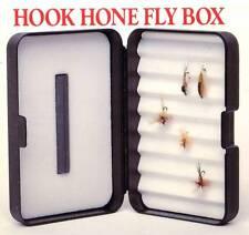 Skykomish Durable Lifetime Hook Hone Stone Foam Fly Box