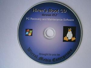 Computer problems Fix Repair Restore PC or Laptop,Linux Windows XP,7,8 CD Hirens
