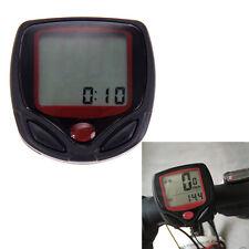 Bike Bicycle LCD Computer Cycling Odometer Speedometer GPS Outdoor Waterproof