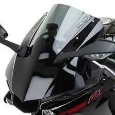 15-16 Yamaha R1 R1M Hotbodies Dual Radius GP Double Bubble Windshield DARK SMOKE