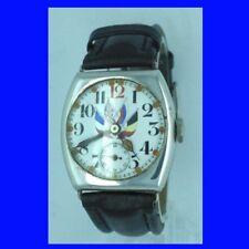 WW1 Vintage Military Presentation Silver Cushion  Wrist Watch 1914
