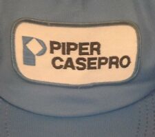 vintage PIPER CASEPRO TRUCKER STYLE BALL CAP hat SNAPBACK snap back RARE awesome