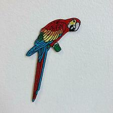 New Cool Bird Parrot Colourful Iron Sew on Embroidered Patch