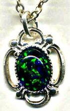 Black Opals Beauty Fine Pendants
