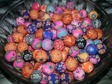 New 10MM Handmade Mixed Color Polymer Clay Spacer Beads Loose Round Beads 10MM