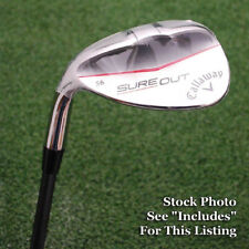 "Callaway Golf LEFT HAND ""Sure Out"" 56º Sand Wedge UST Mamiya 65 Graphite NEW"