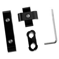 3Pcs Engine Spark Plug Wires Separator Divider Clamp Kit for 8/9/10mm Black