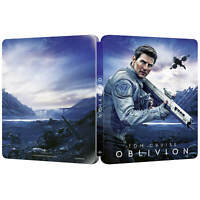 Tom Cruise Oblivion Zavvi UK Exclusive 4K UHD Steelbook Inc. 2D Bluray Presale