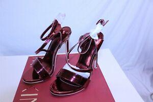 Mackin J 211-12 High Heel Pump Candy Apply Red Women's Choose Size