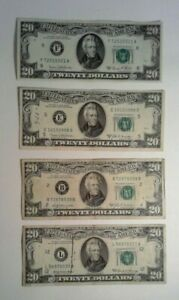 US Currency 1969 $5 (3) $10 (4) $20 (4) - 11 Bill Lot - $135 Face Value