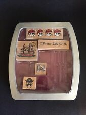 Pirate Rubber Stamps