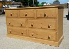 Woodstock  3/4 solid pine  chest.  Fully  assembled Delivery can be arranged..